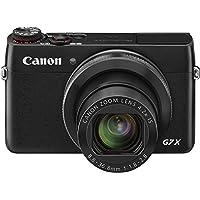"""Canon G7 X - Cámara compacta de 20.9 Mp (pantalla de 3"""", zoom óptico 4.2x, estabilizador, vídeo Full HD, GPS), negro"""