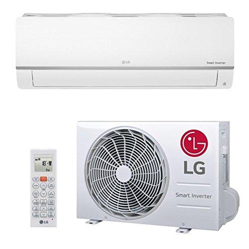 LG Split Klimaanlage Standard Plus - Inverter Klimagerät 3,5 kW - Komplett Set 5m 12000 BTU Energieeffizienzklasse A++ / A+ R32 Erste-klasse-wandhalterung