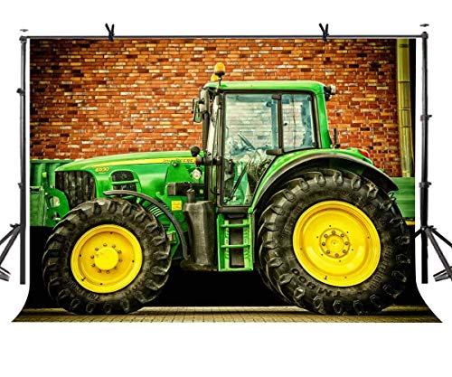 eme Hintergrund John Deere Traktor Fotografie Hintergrund und Studio Fotografie Kulisse Requisiten LYGE1008 ()