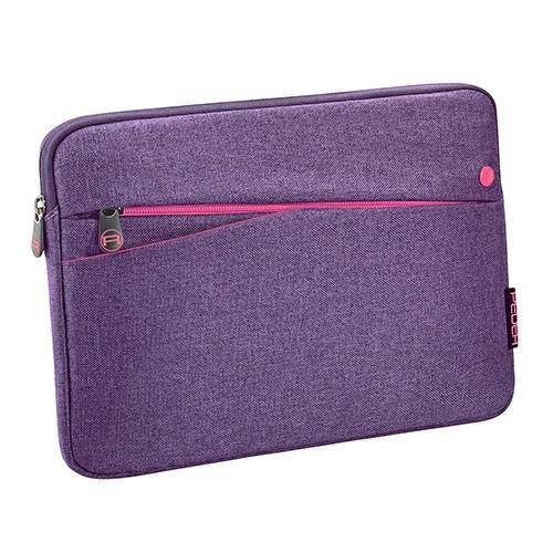 """PEDEA Tablet PC Tasche \""""Fashion\"""" für 10,1 Zoll (25,6cm) Tablet Schutzhülle Tasche Etui Case mit Zubehörfach, lila"""