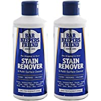 Bar Keepers Friend Universal Multi Surface Cleaner Stain Remover Powder (Pack of 2, 250g)