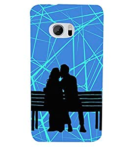 Fuson Designer Back Case Cover for HTC 10 :: HTC One M10 ( Abstact Art Paint Painting Illustrations )
