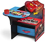 Disney Cars Chair Desk with Storage Bin-E (Red)
