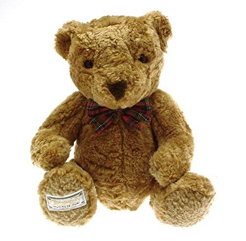 marks-and-spencer-connoisseur-teddy-bear-tartan-bow-gb378