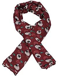 Dolly Sheep Animal Print Fashion Scarf -- SWANKYSWANS