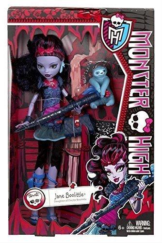 Monster High Doll- Jane Boolittle (Daughter of Doctor Boolittle) by Mattel