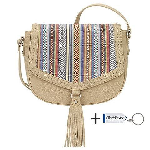 Banadana From American West Êcross-body Bags, Sacs bandoulière femme - multicolore - Sand Rainbow,