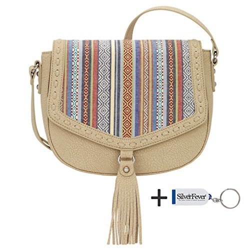 banadana-from-american-west-cross-body-bags-damen-umhngetaschen-mehrfarbig-sand-rainbow-gre-one-size