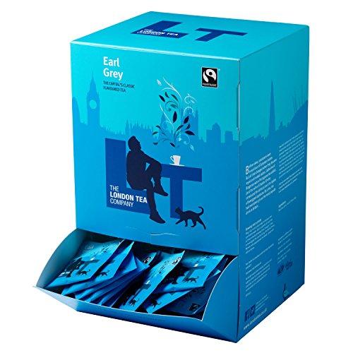 The London Tea Company Fairtrade Earl Grey 250 Envelope Teabags