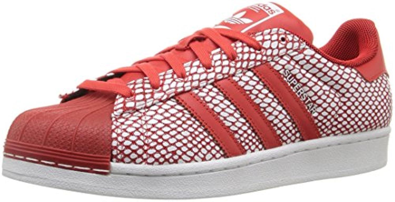 Adidas Superstar Snake Confezione Mens    S82730-rosso   WHT Dimensione  7.5 M Us | Lo stile più nuovo  4b89c2