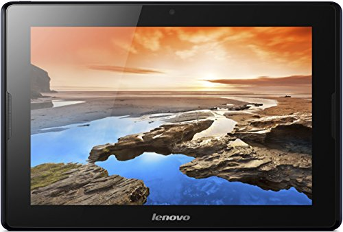 Lenovo A10-70 25,7 cm (10,1 Zoll HD-IPS) Tablet (ARM MTK 8121 QC, 1,3GHz, 1GB RAM, 16GB eMMC, GPS, Touchscreen, Android 4.2) midnight blau mit Tastatur