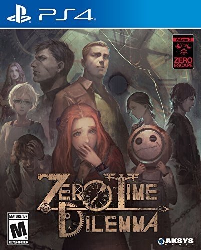 Zero Escape: Zero Time Dilemma for PlayStation 4 Best Price and Cheapest