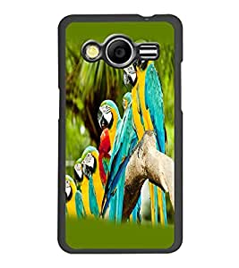 PRINTSWAG PARROTS Designer Back Cover Case for SAMSUNG GALAXY CORE 2 G355H