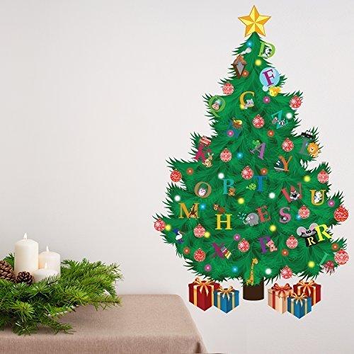 wallflexi Navidad decoración pegatinas de pared árbol de Navidad