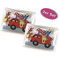 Taschenwärmer Feuerwehr Feuerwehrauto, 2er Set - Wichtelgeschenk, Handwärmer, Taschenheizkissen preisvergleich bei billige-tabletten.eu