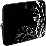 Sidorenko Tablet PC Tasche für 10-10.1 Zoll | Universal Tablet Schutzhülle | Hülle Sleeve Case Etui aus Neopren, Schwarz