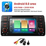 freeauto für BMW E46 320 325 17,8 cm Android 8.0 Multi Touch Bildschirm Autoradio GPS Canbus Screen Mirroring Funktion OBD2 Octa-Core 64bit 4 G RAM 32 GB ROM