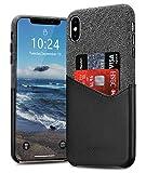 BIGPHILO iPhone XR Coque étui Protecteur en Toile pour Apple iPhone XR 2018,...