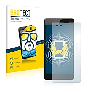 2x BROTECT Film Protection Infinix Hot 2 Protection Ecran - Transparent, Anti-Trace