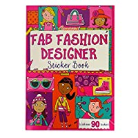 Fab Fashion Designer Sticker and Activity Book, by Squibble