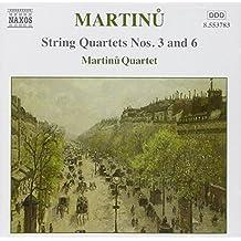 Streichquartette 3+6