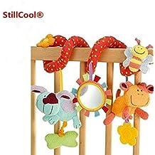 Lijiangshop Bébé Enfants Torsadée Spirale Landau Poussette Siège Auto Lit D'enfant Musical Lit Bell Coloré Dessin Toy Cadeaux