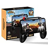 Leoie Mobile Game Controller, PUBG Game Controller L1R1 Mobile Trigger Joysticks for Android iOS Phone