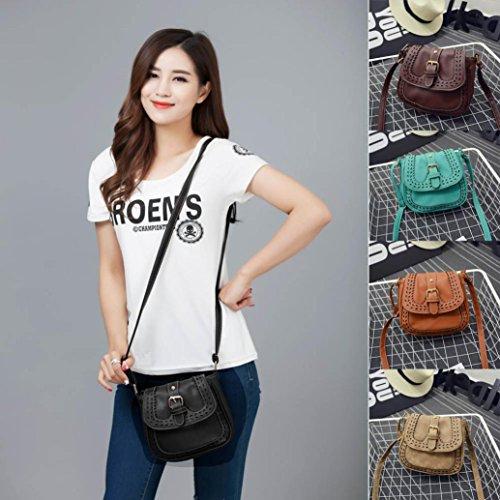 BZLine® Frauen Vintage Handtasche Tasche aushöhlen Umhängetasche , 24cm*7cm*18cm Schwarz