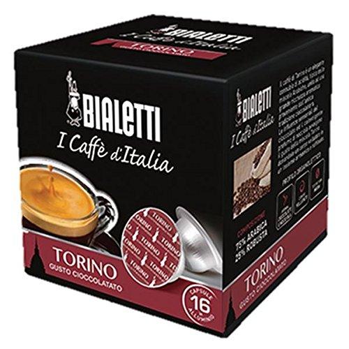 Bialetti Capsule Torino - Set 8 confezioni da 16 capsule