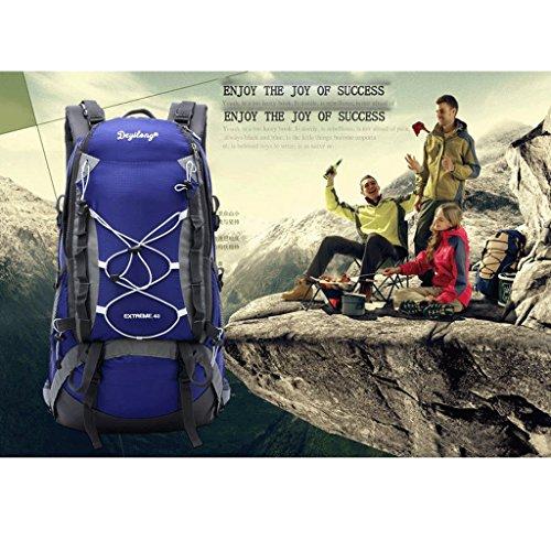 Pathfinder Pionier im Freien Bergtasche Tasche Rucksack Wandern regen Abdeckung montierbare Tragesystem zu senden Blau