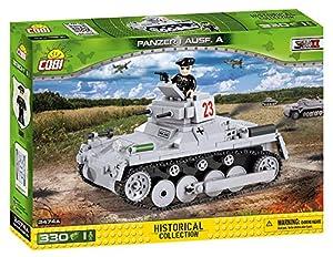 COBI - Panzer I Ausf. C, Tanque, Color Gris (2474)