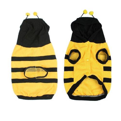 Imagen de toogoo r ropa abrigo del perro perrito abeja abejorro traje de disfraz atuendo para mascotas m