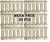 #5: The DDS Store Rawhide Pressed Chew Dog Bone Mega Pack 3 inches 30 Pcs