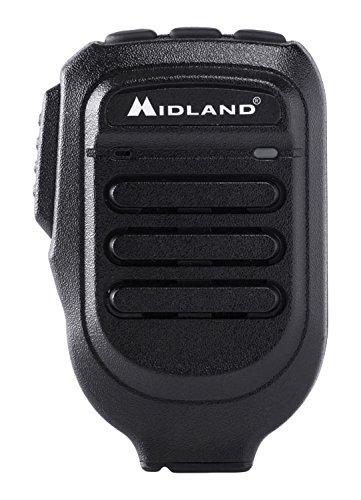 Midland wa-mike Headset Bluetooth, Schwarz