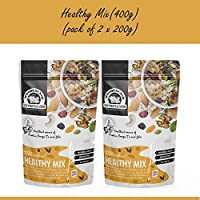 Wonderland Foods 10 in 1 Healthy Mix, 400g (Mix of 10 Dry Fruits, Seeds & Berries)