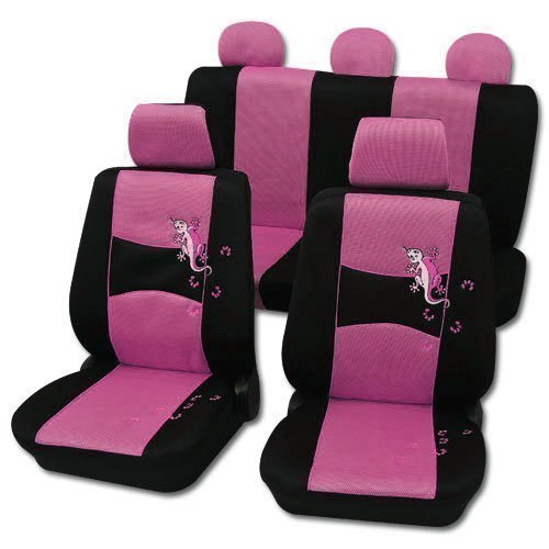 Sitzbezüge Pink KFZ Schonbezüge Schonbezug Design 46