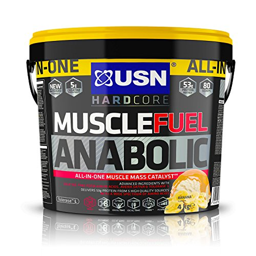 Lean Shake (USN Muscle Fuel Anabolic Lean Muscle Gain Shake Powder, Banana - 2 kgUSN Muscle Fuel Anabolic Lean Muscle Gain Shake Powder, Banana - 4 kg)