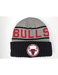eaa48e45eb1145 Mitchell & Ness Chicago Bulls Grey Knit Beanie OSFA KJ46ZNB CHIBUL H5 CUFF