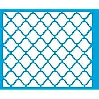 21cm x 17cm Stencil di Plastica per Decorazione Parete Muro Tessuto Maglietta Aerografo Progettazione Disegno Grafica -