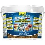 Tetra Pro Energy Premiumfutter (für alle tropischen Zierfische, mit Energiekonzentrat für extra Wohlbefinden, Vitaminstabilität und hoher Nährwert, konzentrierter Nährstoffgehalt Omega-3 Fettsäuren), 10 Liter Eimer