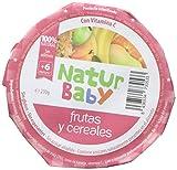 Natur Baby Puré Natural de Frutas y Cereales para Bebé - Paquete de 12 x 230 gr - Total: 2760 gr