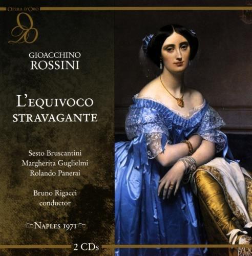 Rossini : L'equivoco Stravagante. Bruscantini, Guglielmi, Panerai, Rigacci.