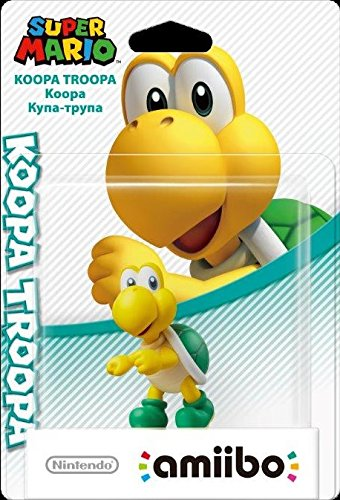 Nintendo   Figurina Amiibo Koopa Troopa  Colección Super Mario