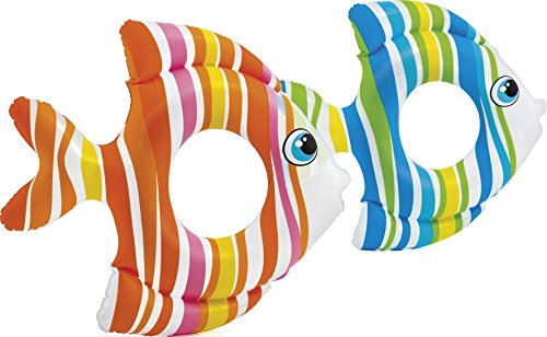 Intex 59223 - Salvavidas Peces Tropicales, 83 x 81 cm