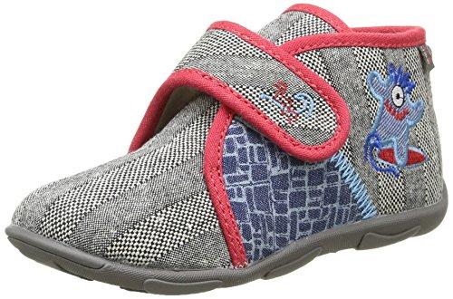 gbb-maverick-chaussons-montants-double-chaud-garcon-gris-51-ttx-gris-rouge-dtx-amis-20-eu