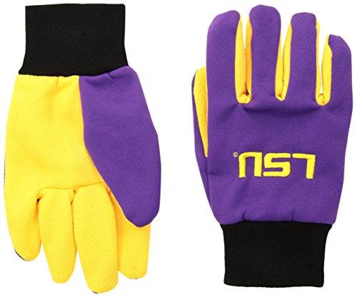 Forever Collectibles NCAA Arkansas Razorbacks 2015farbigen Palm Utility Handschuh, unisex, Lsu 2015 Utility Glove - Colored Palm, Lsu Tigers