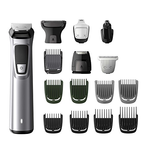 Philips MG7730/15 Serie7000 Grooming Kit, Rifinitore Impermeabile 16in1 per Barba, Capelli...