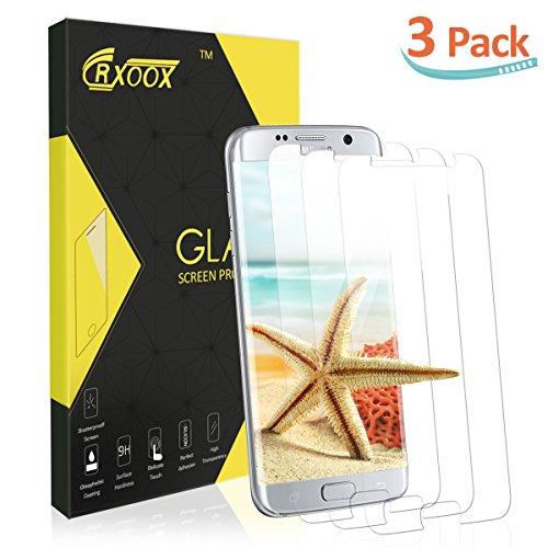 [3-Pack] Verre Trempé pour Samsung Galaxy S7/S6, Film de Protection d'Écran en Verre Trempé Transparent, 3D Tactile Compatible et Dureté de 9H Pour Samsung Galaxy S7/S6 (Verre Trempé pour Samsung Galaxy S7)