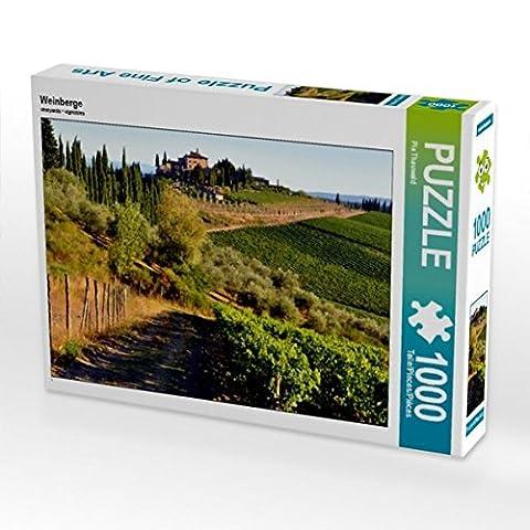 Weinberge 1000 Teile Puzzle quer (CALVENDO Orte)