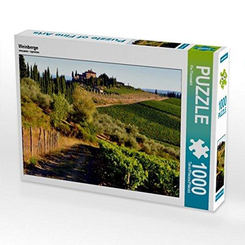 Preisvergleich Produktbild Weinberge 1000 Teile Puzzle quer (CALVENDO Orte)